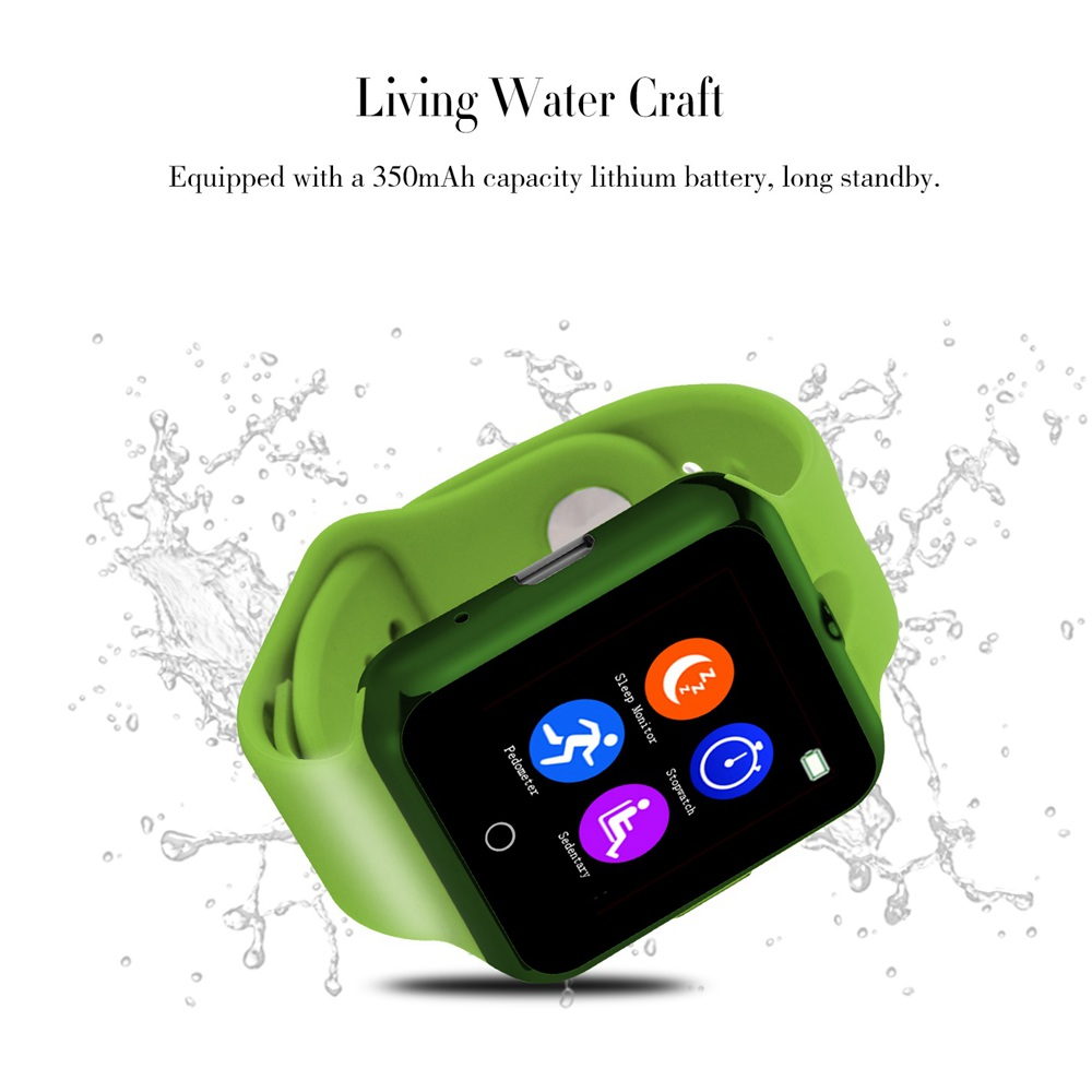 Health Fitness Smart Watch Phone SW88 with GSM SIM TF Card Slot High Quality Sound UV