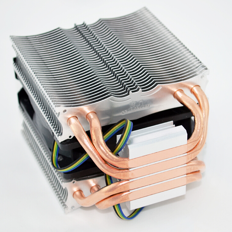 Copper mute 4 heat pipe CPU Cooler Boss CPU cooler fan LGA115X/775,fm2/1,AM3+/3/2+/2