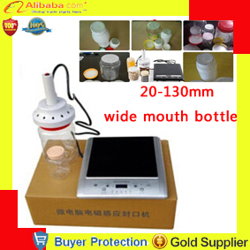 kitchen tools Induction Aluminum Foil Sealing Equipment Max 130mm Hand Held Sealer 20-130mm wide mouth bottle sealer - Ningbo Launch store