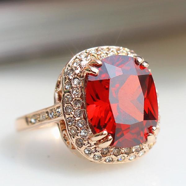 6 kalyptolith female ring women's fashion vintage ring finger ring