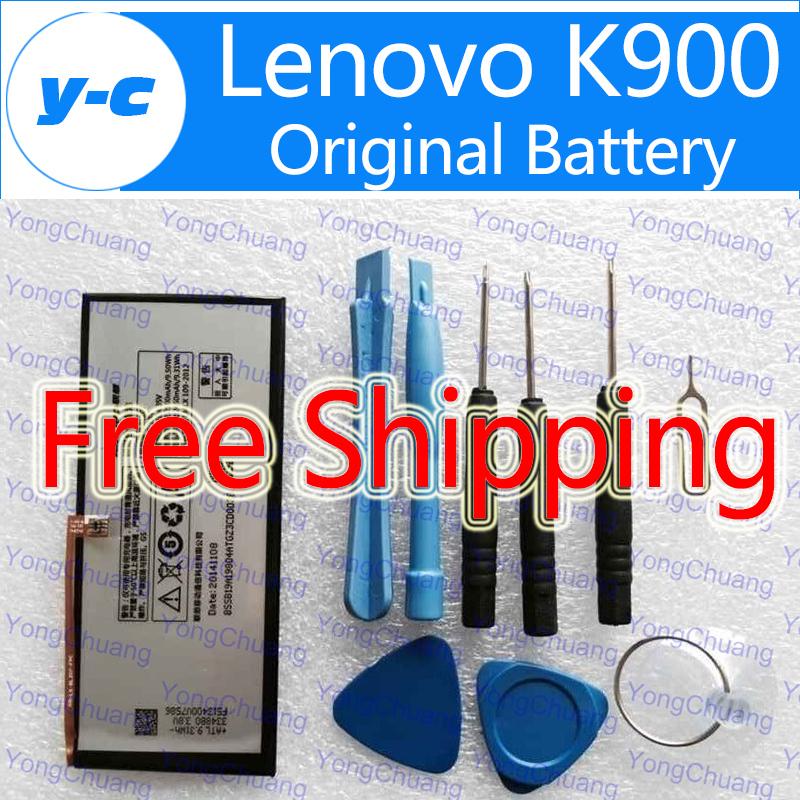 LENOVO K900 Battery 100% Original BL207 2500mAh Battery for LENOVO K900 Smart Cell Phone In Stock Free Shipping+ Tracking Number