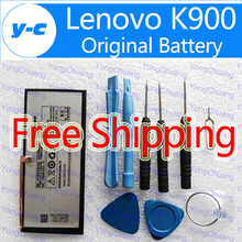 LENOVO K900 Battery 100% Original BL207 2500mAh Battery for LENOVO K900 Smart Cell Phone In Stock Free Shipping+ Tracking Number
