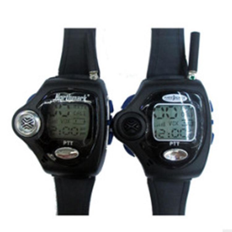 Newest 2pcs Backlit Portable Watch Radio Pair Digital VOX Walkie Talkie Watch For Intercom Interphone Two Wrist Watch Way Radio(China (Mainland))