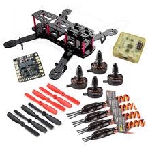 Buy OEM QAV250 Carbon Quadcopter X2204S 2300KV Motor BLHeli 12A ESC CC3D FC 5045 Props High for $79.51 in AliExpress store