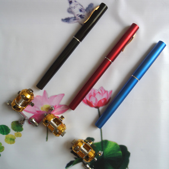 Pen Fishing Rod It's small and convenient can be used for ice fishing rod boat fishing rod and travel fishing etc(China (Mainland))
