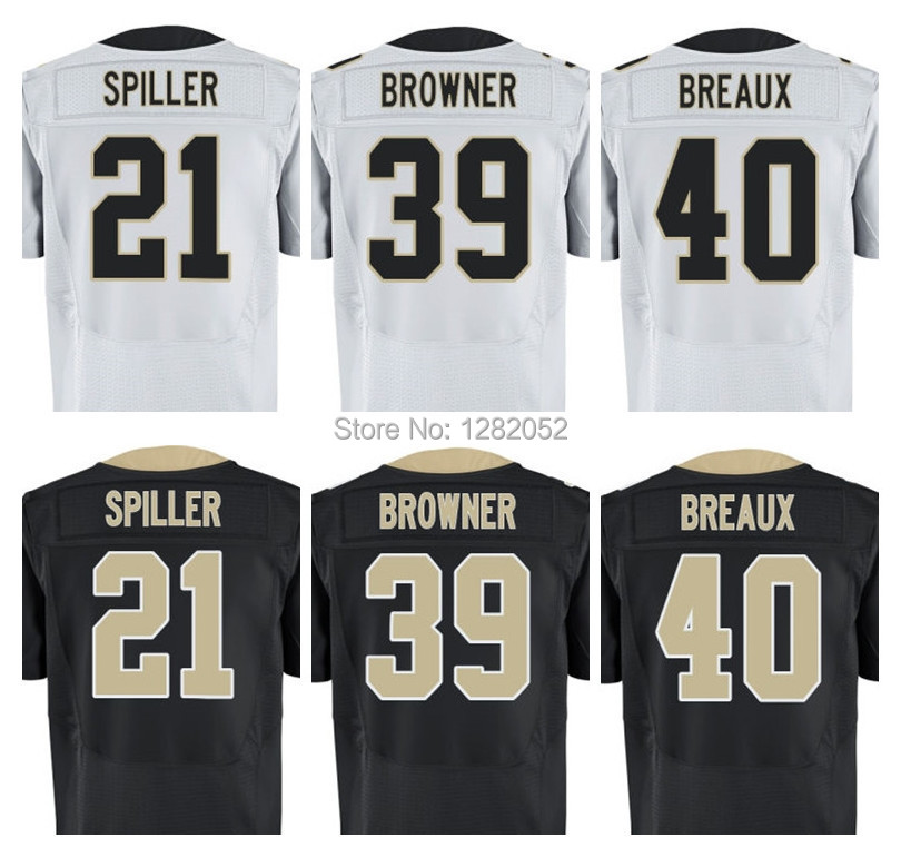 Football Jerseys #40 Breaux #12 CJ #39 2015 New  Style видеоигра для pc football manager 2016