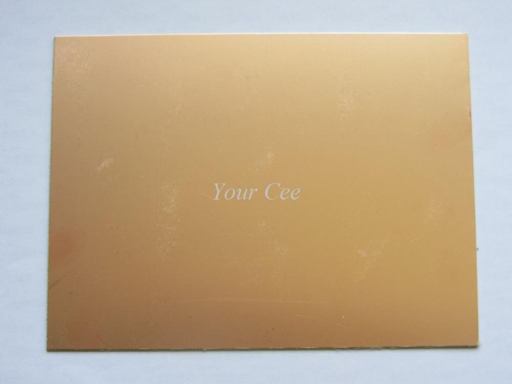 "10 pcs Double Side PCB Epoxy Fiber FR4 Copper Clad Plate Laminate 150*100*1.6mm (5 15/16"" x 4"" x 1/16"") DIY(China (Mainland))"