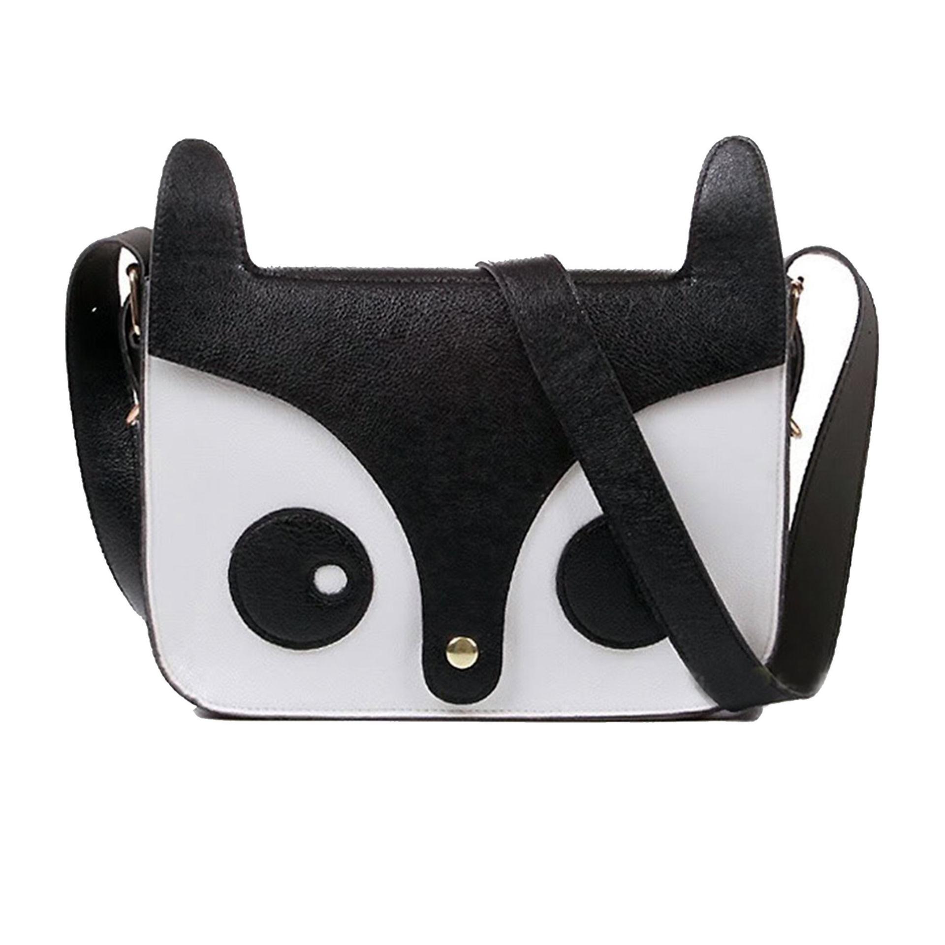 2014 New Fashion Leisure Women Ladies Retro Shoulder Bag Messenger Bags Cute School Fox PU Handbags(China (Mainland))