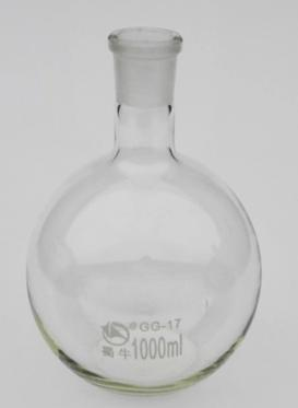 free shipping3000ml Boiling Flask 29# Joint ROUND Bottom Lab Glassware<br>