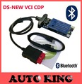 Cool ds New vci 2015 R1 cd dvd Software with bluetooth obd obd2 OBDII scan tcs
