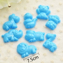 New Assorted Magic Sand Molds for Children Educational Play Sand Castle Toys on Beach Mixed Miracle Clay Sand Molds & Tools(China (Mainland))