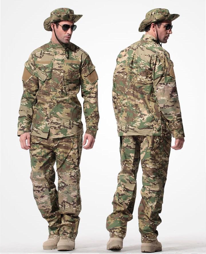 Hot Men CP Multicam Camouflage suit Tactical Military combat Airsoft uniform medical clothing set