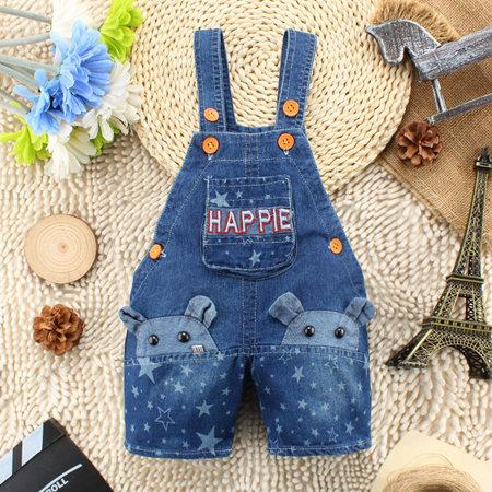New 2015 Baby boys girls belt short pants Children summer jeans toursers kids Unisex animal belt