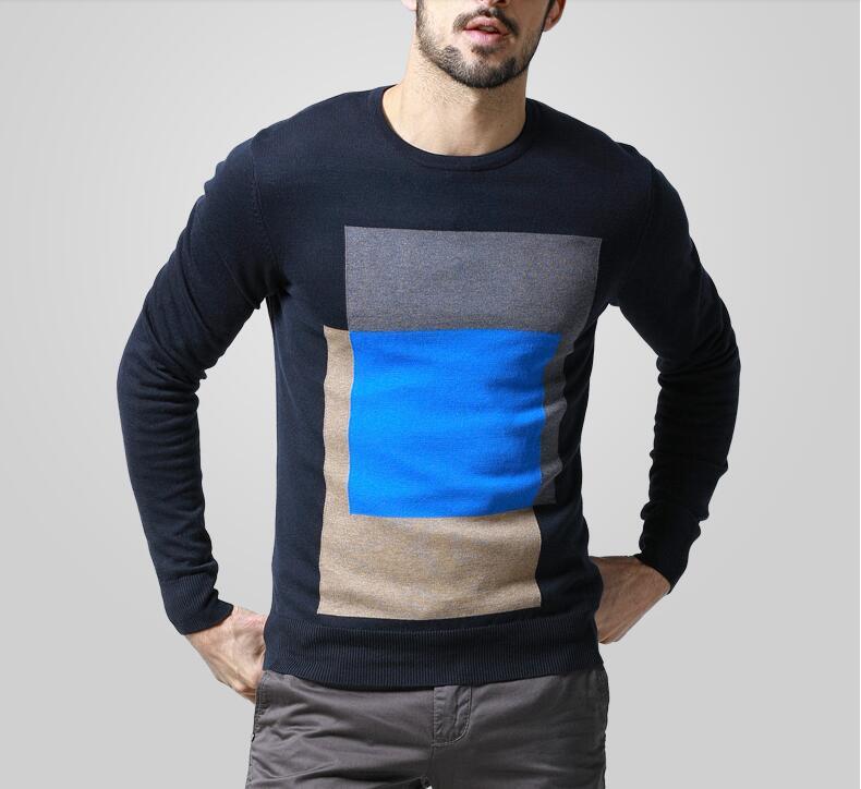 Стильный Мужской Пуловер С Доставкой