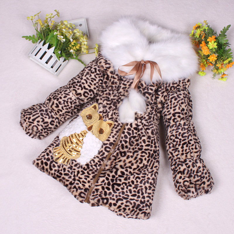 Newborn baby girl winter clothes Winter coat thicker plush