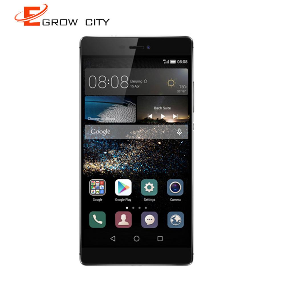 Original Huawei P8 Android 5.0 FHD 1920*1080 3G RAM 1080P video recording EMUI 3.1 Octa core 13MP F2.0 main camera(China (Mainland))