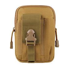 Tactique Molle poche taille sac étanche en Nylon multifonction décontracté hommes EDC sac à outils petit sac étui de téléphone portable sac de chasse(China)