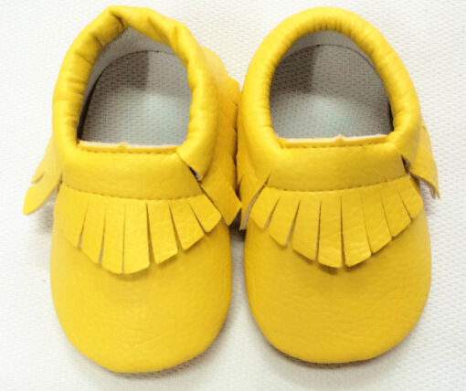 25colors New gold silver pink candy Cute leather Baby Moccasins shoes Boys Girls Toddler Soft Sole Infant Kids Shoes 0-2years(China (Mainland))