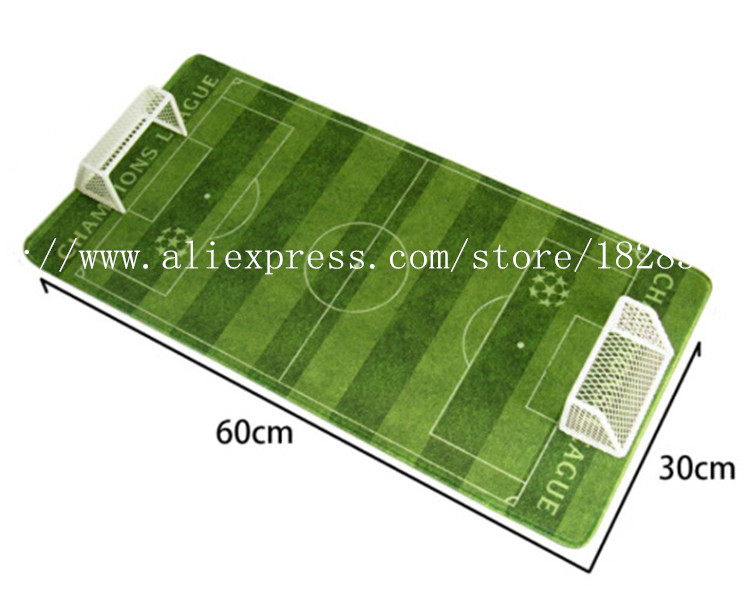 Miniverse Soft Rubber 60*30 cm Size Football Field Model Green Simulation Collections(China (Mainland))