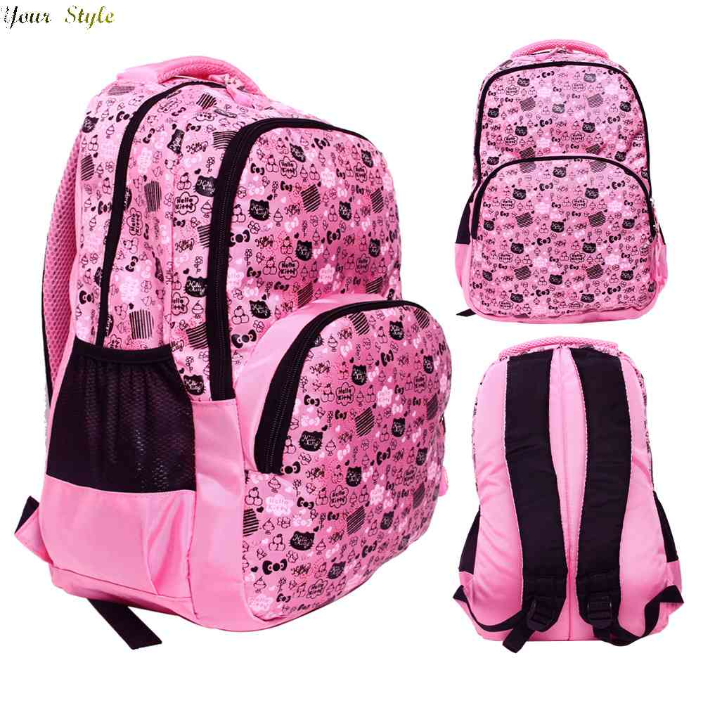 Free Shipping students outdoor leisure lightening schoolbag backpack best selling new female children 1436150554(China (Mainland))