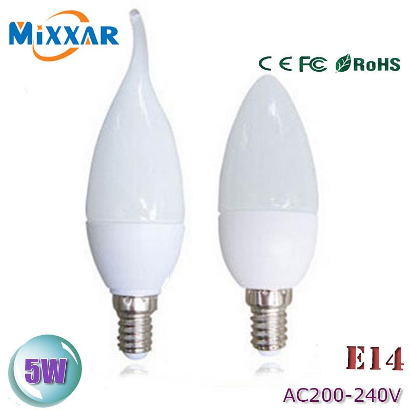zk35 E14 Led Candle Energy Saving Lamp Light Bulb Velas Led Decorativas Home Lighting Decoration Led Lamp Bulb E14 220V 5W 3W(China (Mainland))
