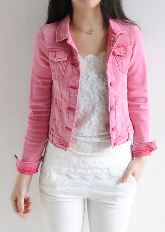 Colored Jean Jackets For Women | Outdoor Jacket