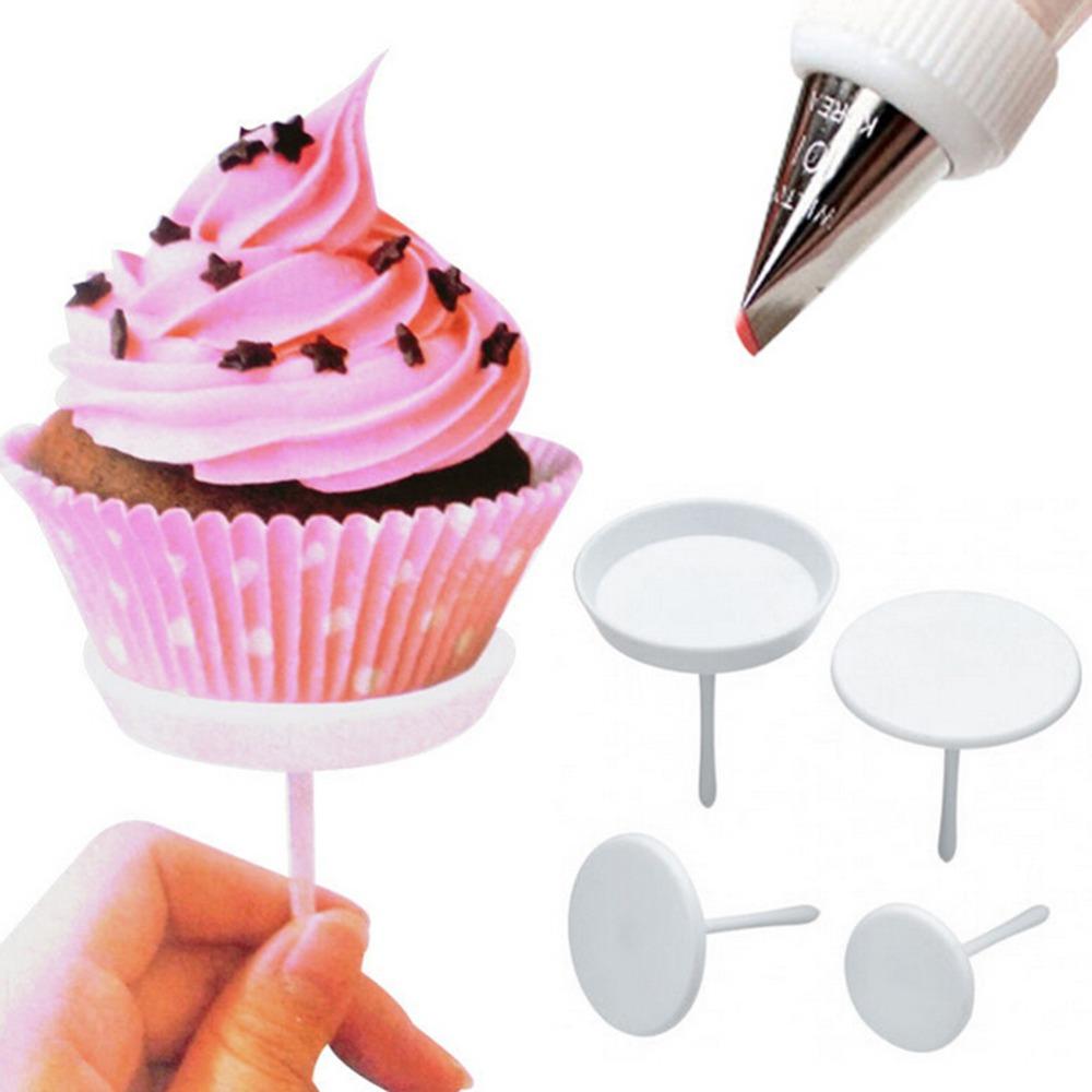 Com 1000i Cake Icing And Decorating Equipment : 4pcs/set Cake Cupcake Stand Icing Cream Decorating Tool ...