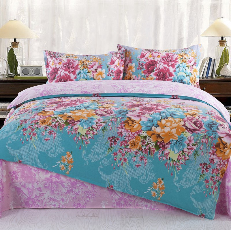 Home textiles,BIG SIZE ,100% cotton bedding sets include comforter cover bed sheet pillowcase 111 - Natali Colthes Co.,LTD store