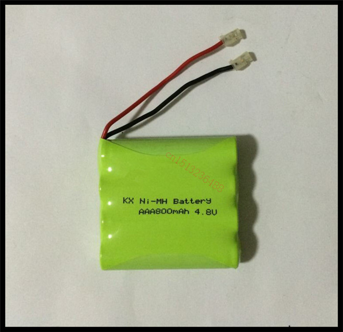 1 PCS/lot KX Original New Ni-Mh 4.8V AAA 800mAh Ni-Mh Rechargeable Battery Pack With Plugs Free Shipping(China (Mainland))