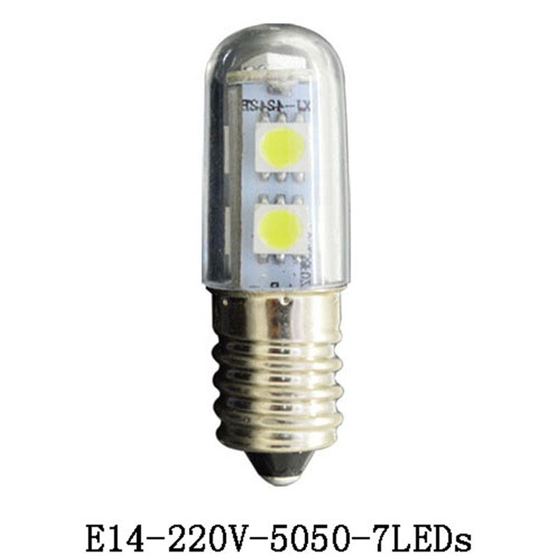 E14 LED lamps 220V 5050 SMD 3014SMD Crystal Spotlight ...