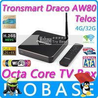 Tronsmart Draco AW80 Telos Android TV Box Allwinner A80 Octa Core 4G/32G 802.11ac 2.4G/5GHz WiFi 4K*2K H.265 SATA Smart TV Linux