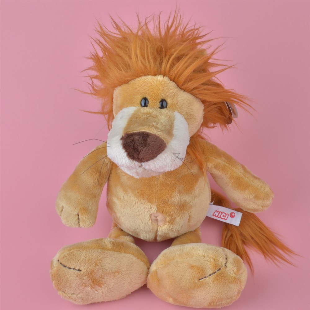 35-50cm NICI Light Yellow Color Lion Plush Toy, Baby Gift, Kids Toy Wholesale with Free Shipping(China (Mainland))