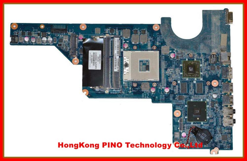 636371-001 636372-001 DA0R12MB6E0 REV :E laptop motherboard For Hp Pavilion G4 G6 G7 Notebook PC(China (Mainland))