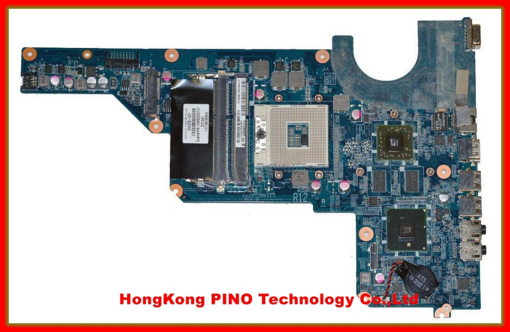 Free Shipping 636372-001 DA0R12MB6E0 REV :E laptop motherboard For Hp Pavilion G4 G6 G7 Notebook PC(China (Mainland))