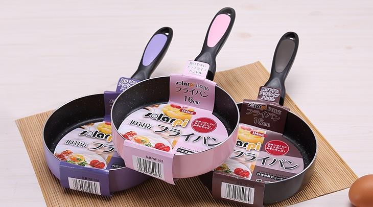 0 top quality 16cm diameter nonstick ceramic coating pan no lampblack frying pan skillet 3 color(China (Mainland))