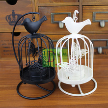 2015 New design good quality europe butterfly bird Iron candle holders Candlestick wedding home patty decoration free shipping(China (Mainland))