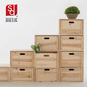 Jane domaine combinaison biblioth que en bois livraison for Petite armoire de rangement