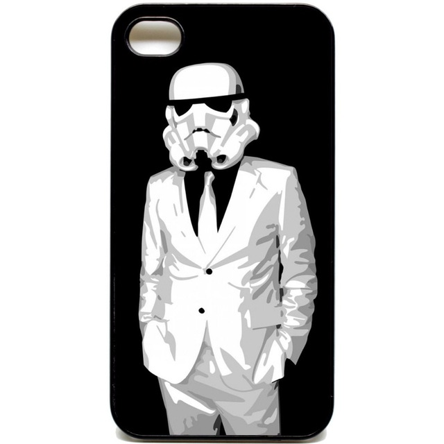 Storm trooper star wars cellphone case cover for iphone 4 4s 5 5s 5c 6 6s