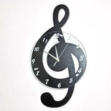 2015 новые вывески настенные часы молчат часы часы музыкальная нота арт настенные часы мода личности бесплатная доставка