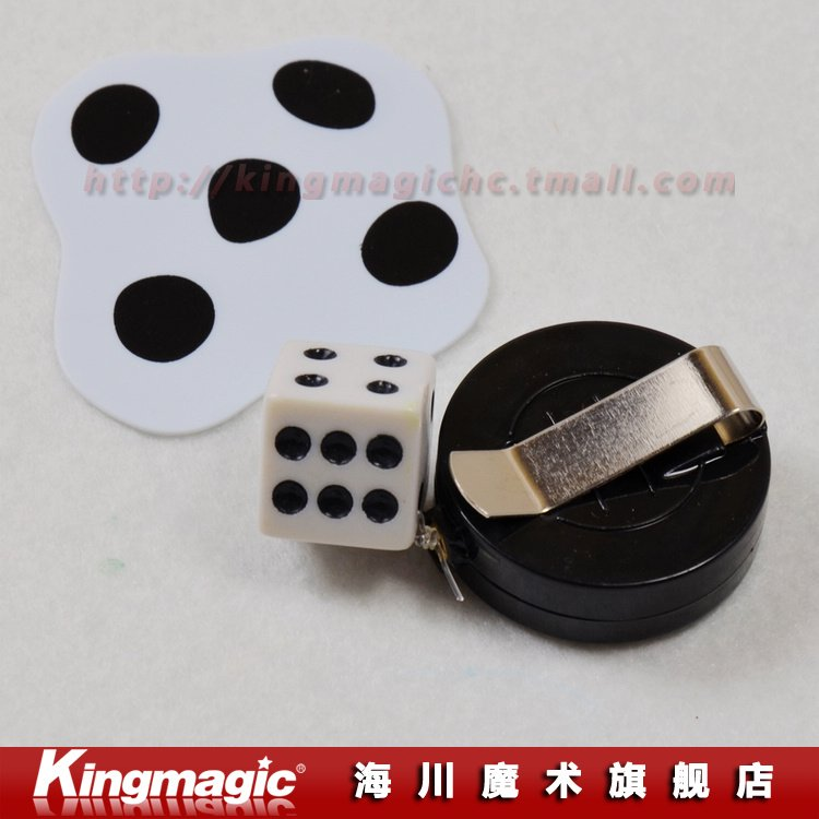 Flattened Dice Magic Dice Close Up Magic Magic Props(China (Mainland))