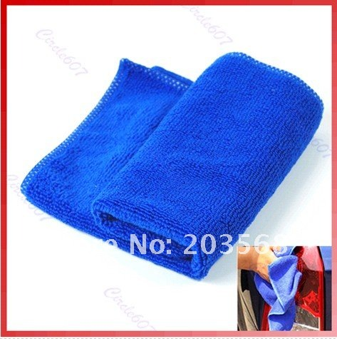 Microfiber Towel Car Cleaning Wash Clean Cloth 30X30CM(China (Mainland))