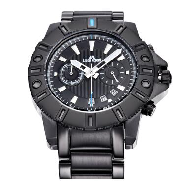 original LIBER AEDON sports watch 100m waterproof  all-steel Multi-function mens watch outdoor sports  LA3901 free shipping<br><br>Aliexpress