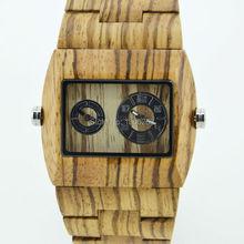 Simulación de madera Relojes de cuarzo Relojes hombres Casual Color de madera de madera reloj de hombre reloj Relogio Masculino