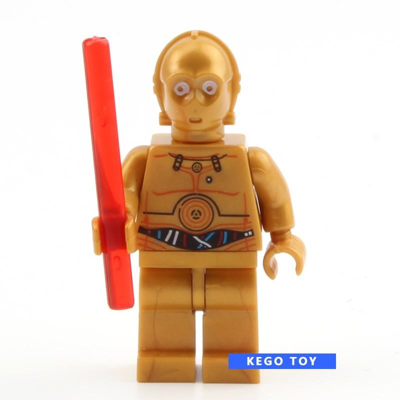 Детское лего Minifigures R2D2 Boba Fett Trooper Kylo Ren