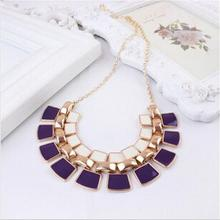 2015 Vintage Statement Necklaces Collares Femininos Accessories Colar Fashion Gold Plated Women Jewelry Mujer Bijuterias N104(China (Mainland))
