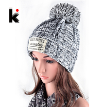 2016 women's winter hat knitted wool cap girl wool beanie millinery russia hats for woman beanies(China (Mainland))