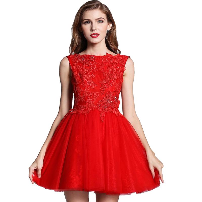 great blog robe robe de bal courte rouge. Black Bedroom Furniture Sets. Home Design Ideas