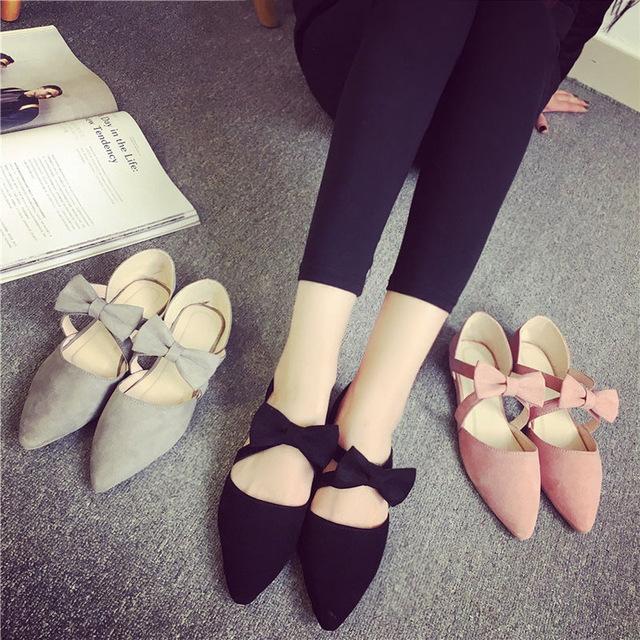 Новинка женщина квартиры боути весна лето женская обувь женщины сандалии замши свободного ...