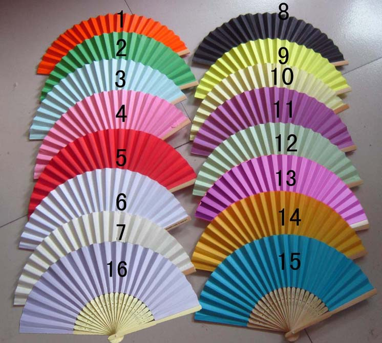 200PCS/LOT Wedding Paper Fan,Bride Hand Fan with bamboo ribs,Craft Fan wedding bridal shower favor party gift(China (Mainland))