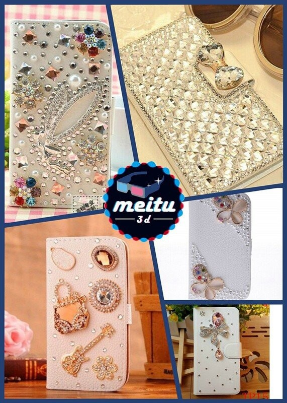 New luxury colorful butterflies Bling Diamond guitar style leather For Samsung i929 Galaxy S2 Duos phone case(China (Mainland))